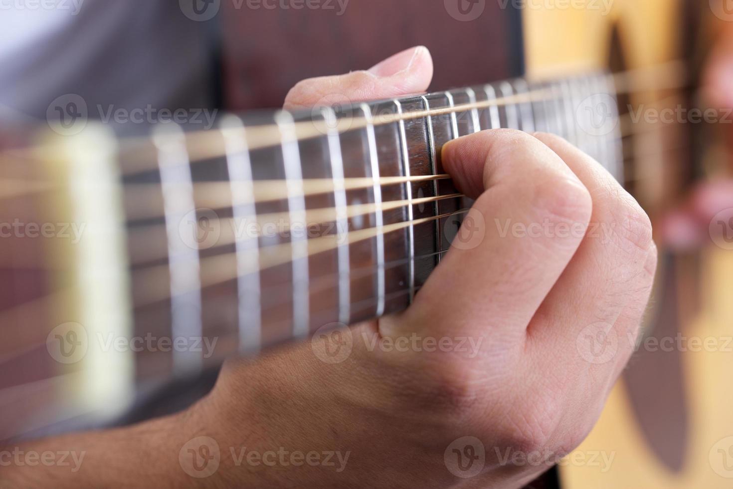 guitarra de cerca foto