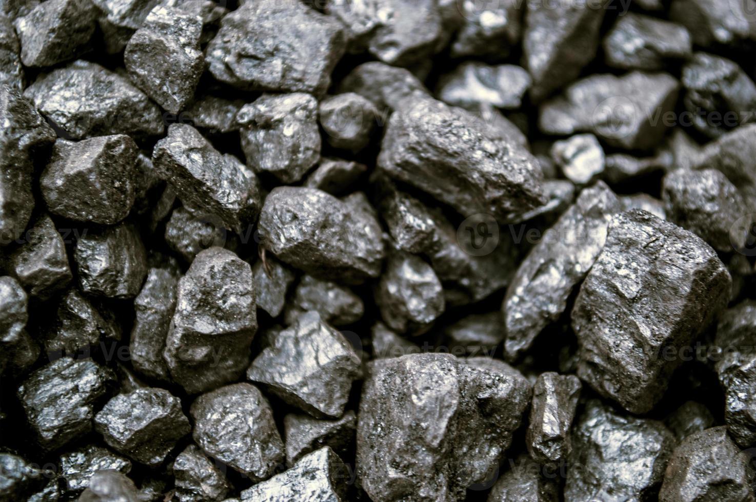 carbón cerca foto