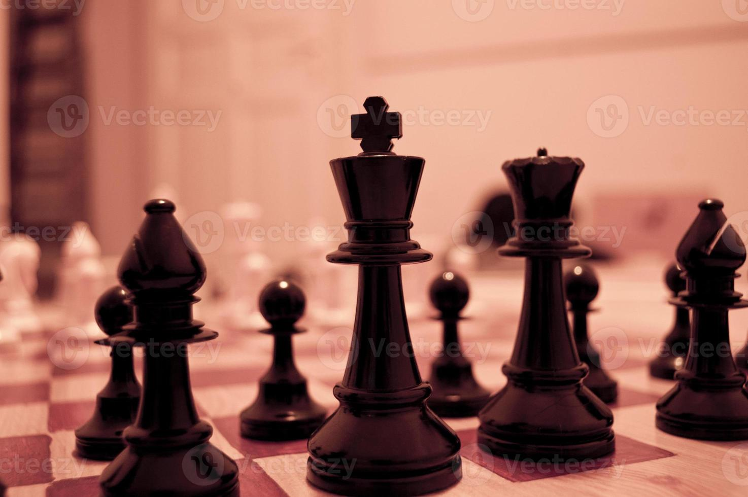 ajedrez de cerca foto