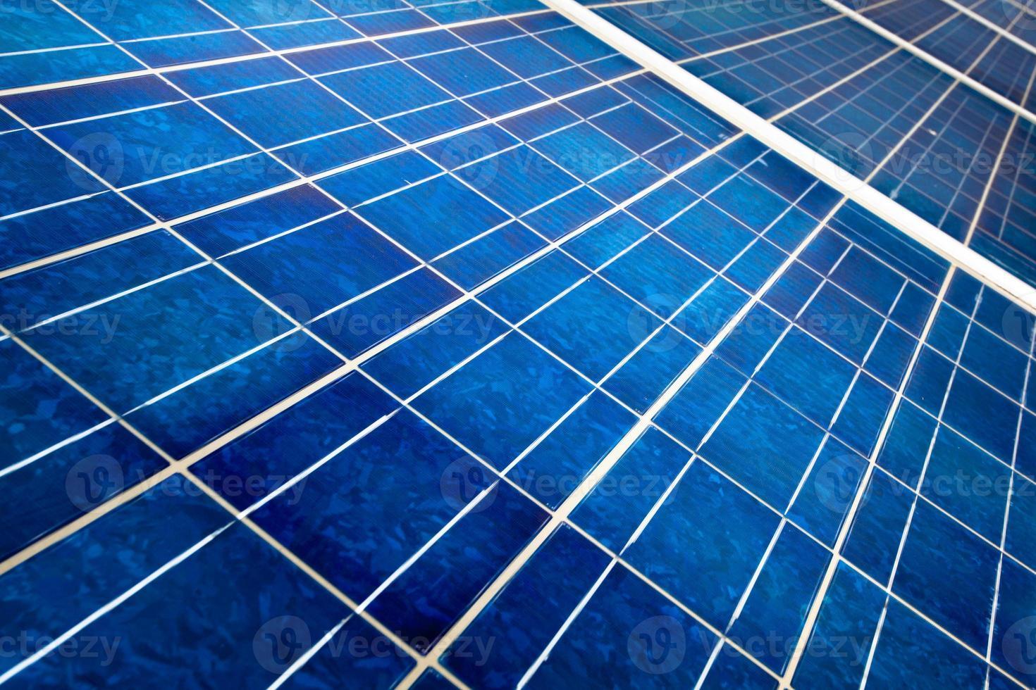 Solar panel close up photo
