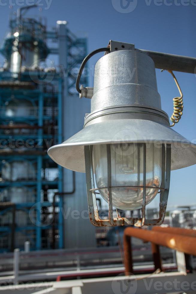 lámpara. cerca de la foto