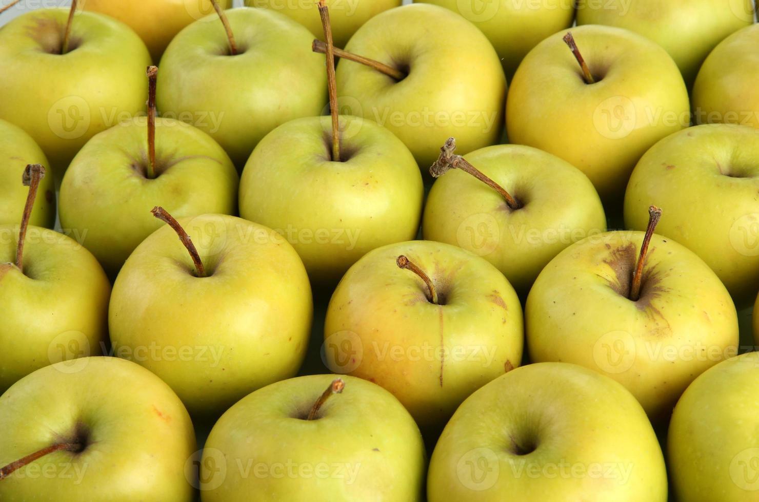 manzanas jugosas, de cerca foto