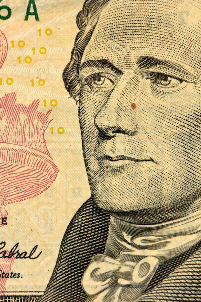 Dollar face close-up photo