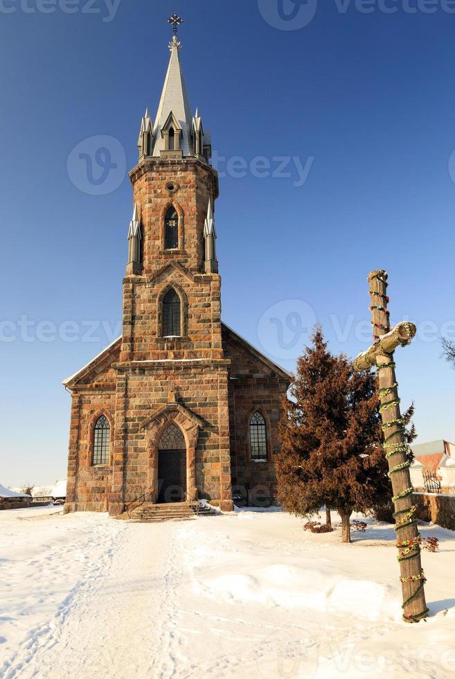 Iglesia Católica. de cerca foto