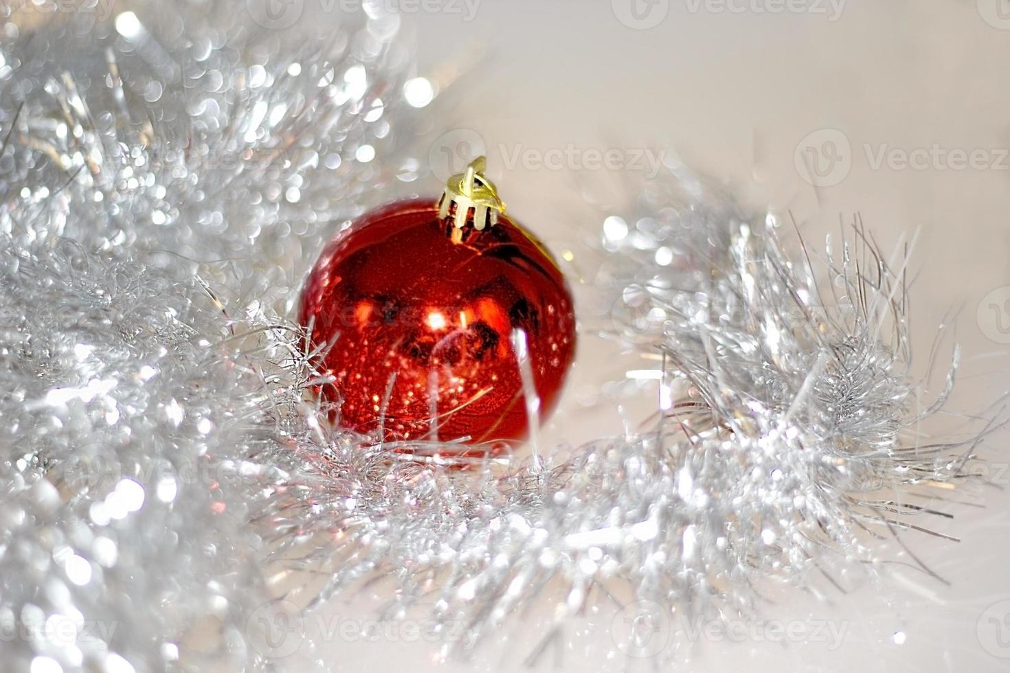 Christmas decoration close-up photo