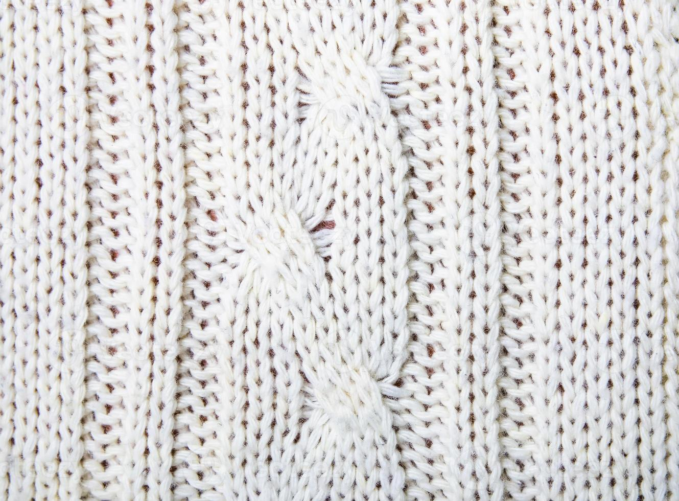 Knitted texture close-up photo