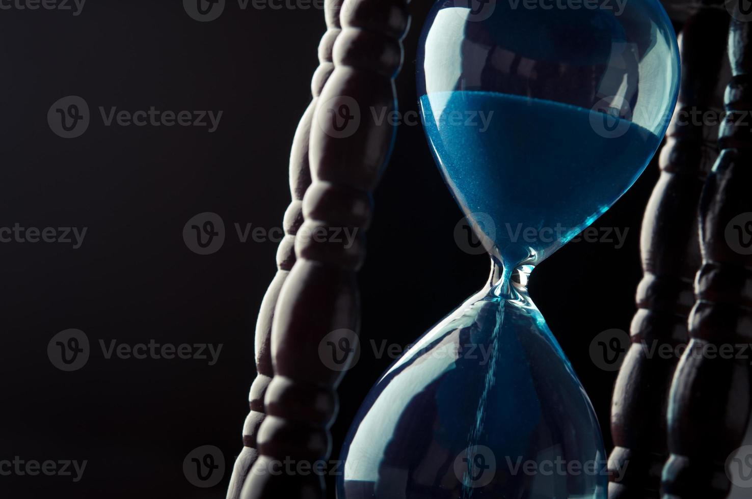 close up of hourglass photo