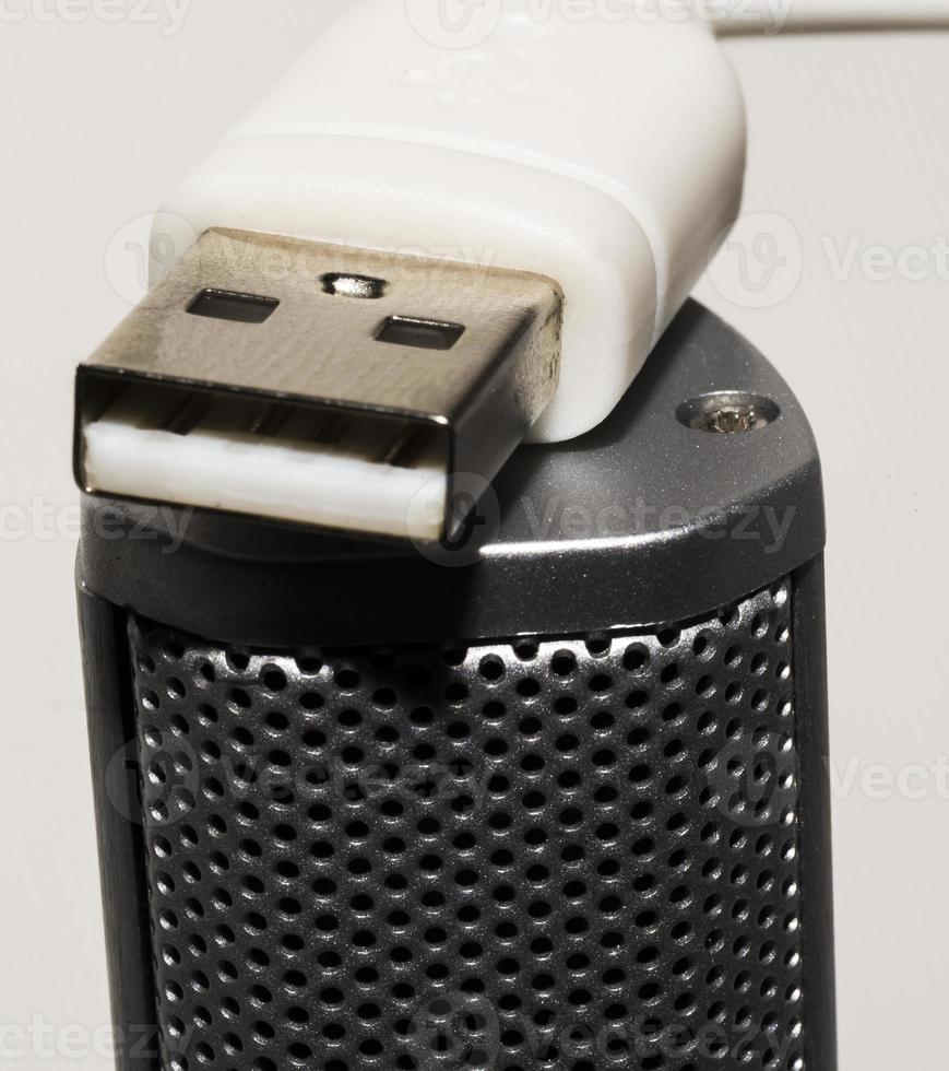 Close up USB Speaker photo