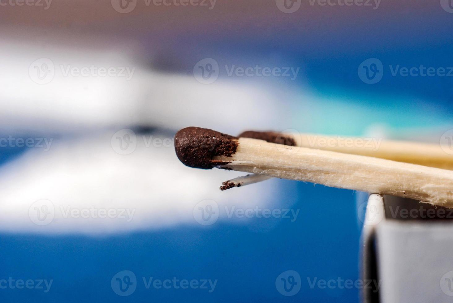 Close-up of matches photo