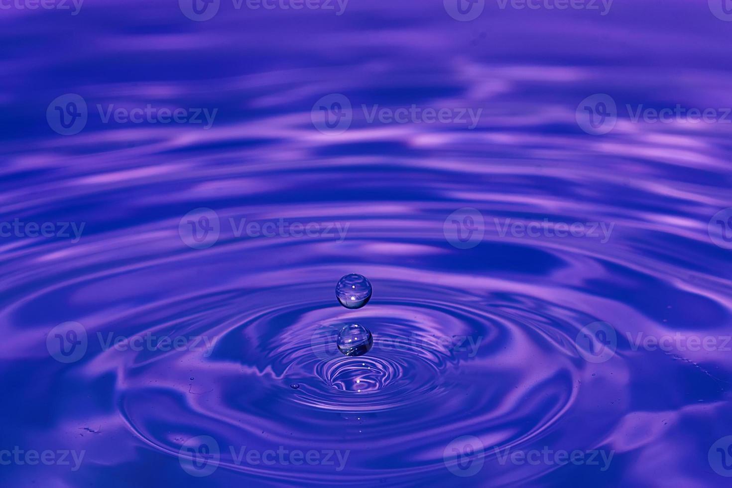 gota de agua de cerca foto