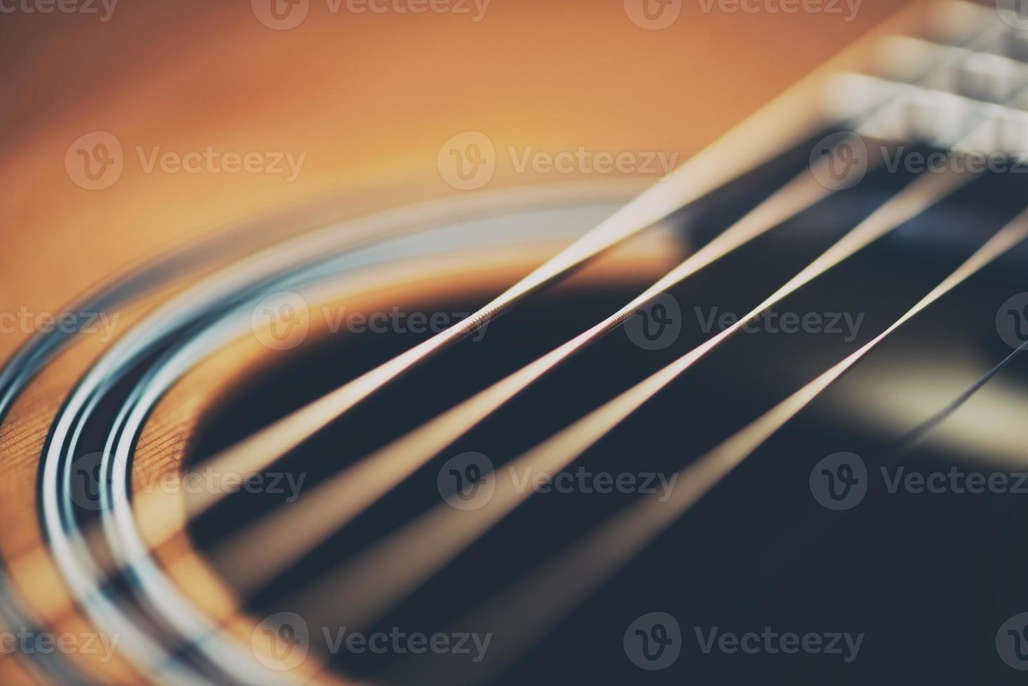 Guitar up close photo