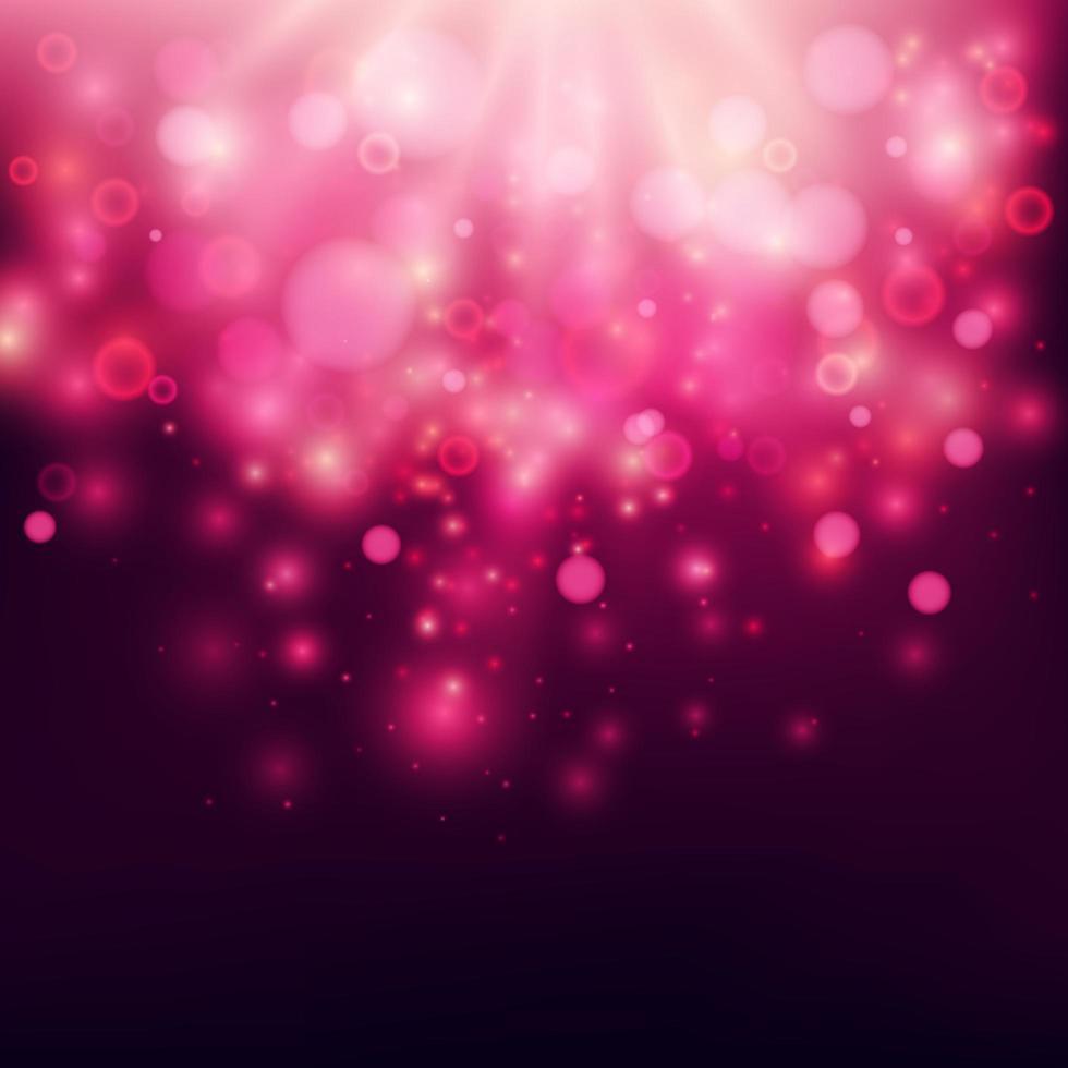 viola brillante sfondo bokeh vettore