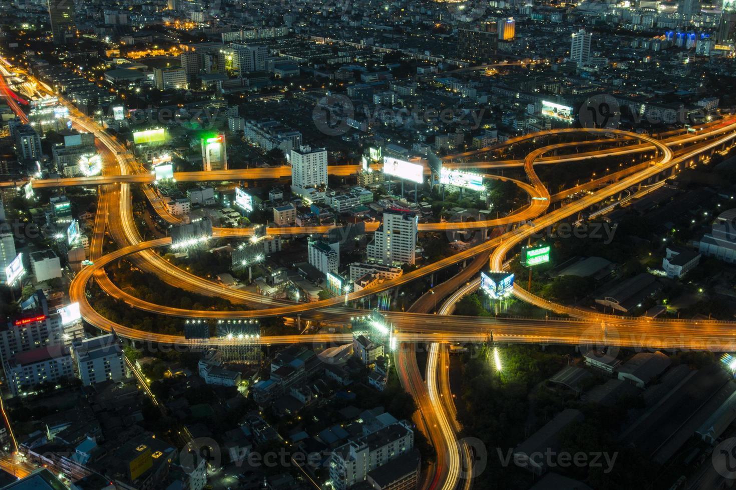 ojo de pájaro sobre Bangkok foto