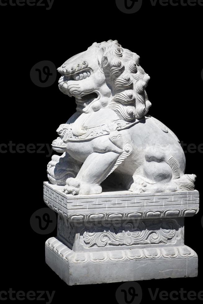 chinese guardian lion photo
