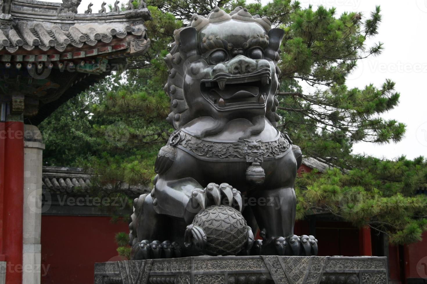Summer Palace Lion photo