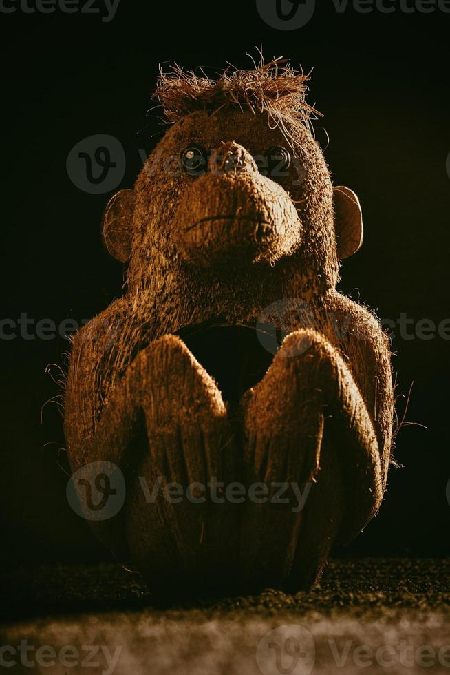 Monkey toy photo