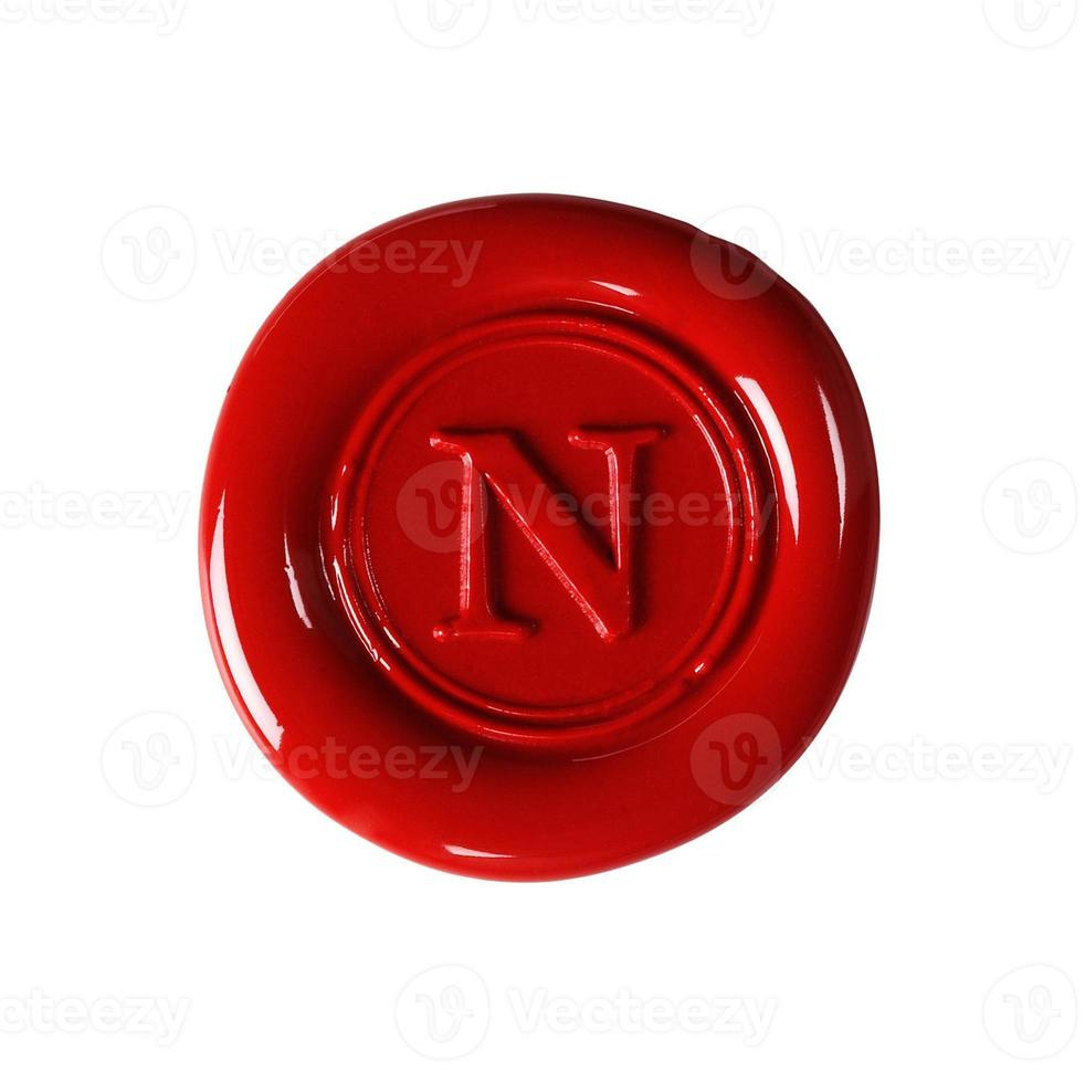 red wax seal photo
