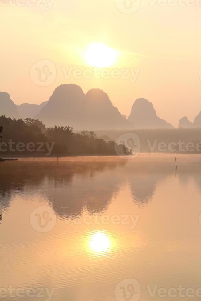 Sunrises at Ban Nong Thale photo