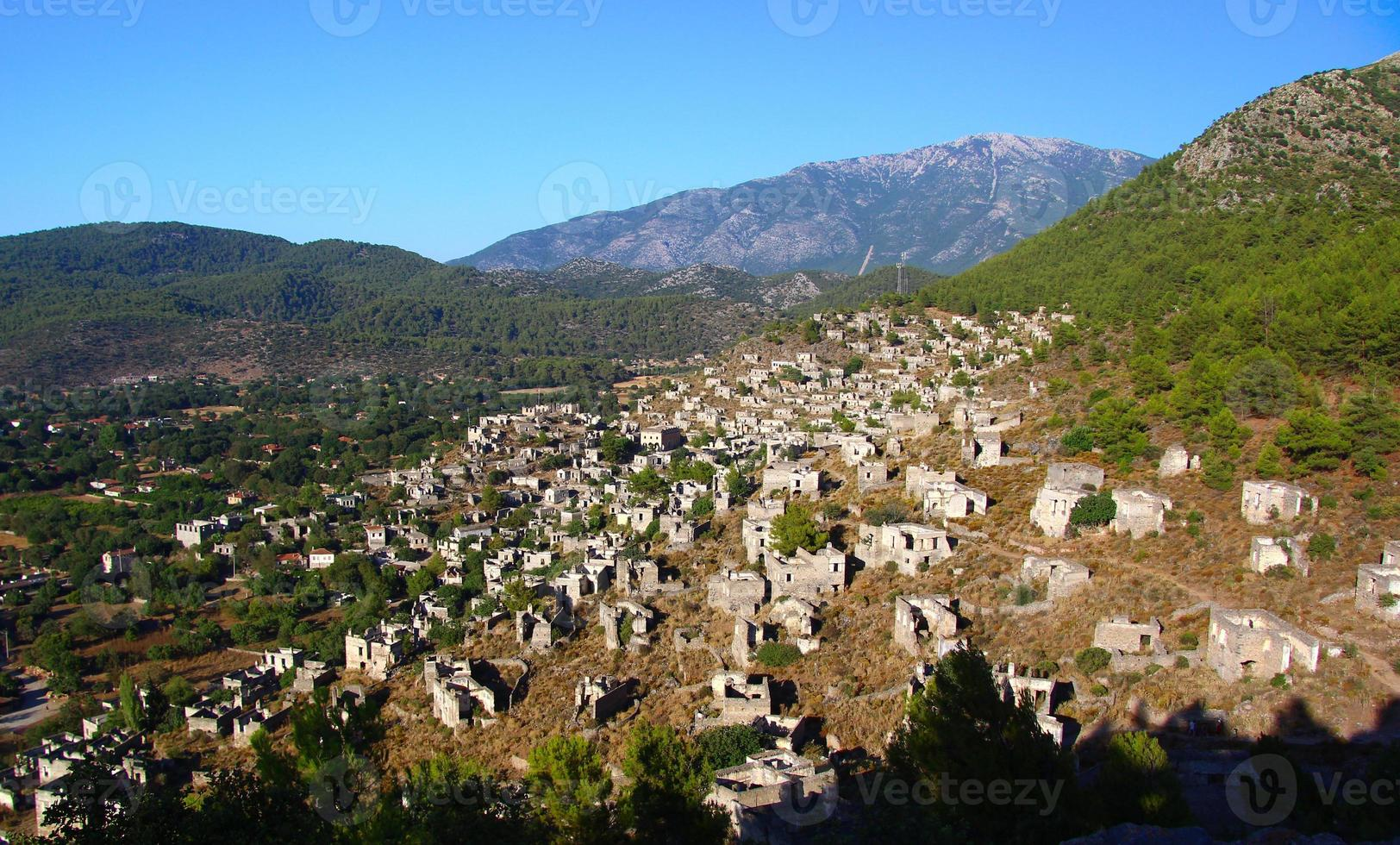 Kayakoy, Fethiye, Turkey photo