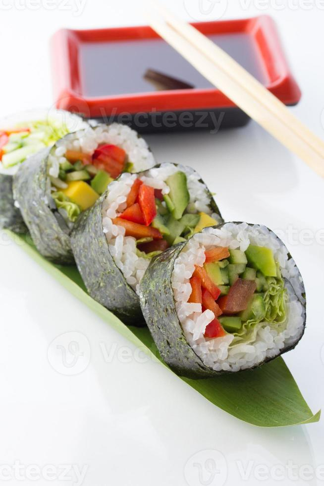 Sushi roll photo