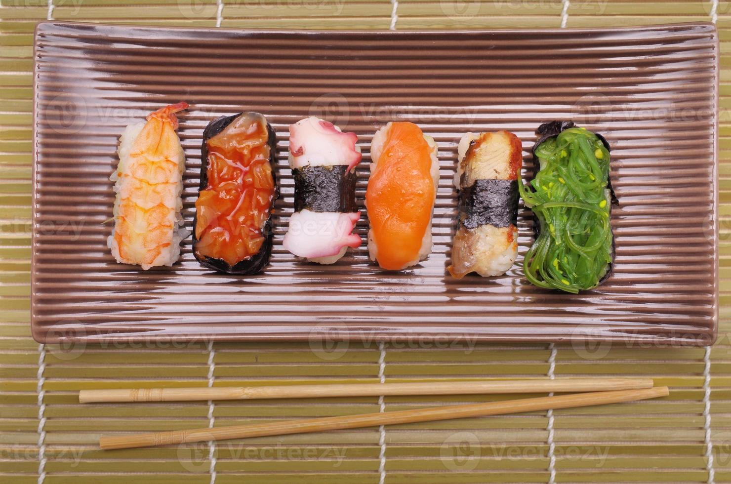 Sushi nigiri photo