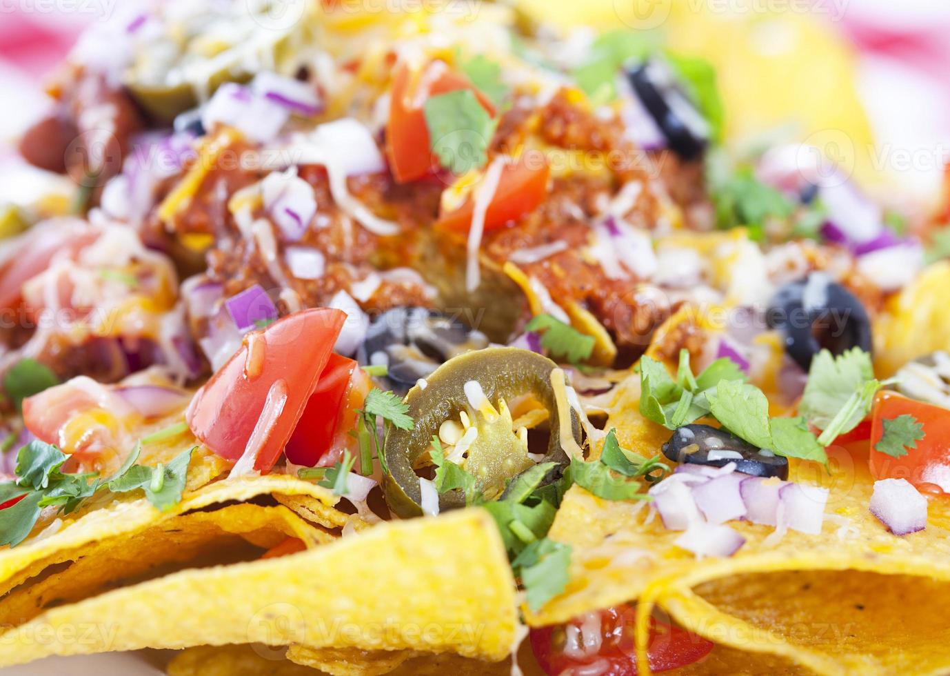 fondo nachos foto