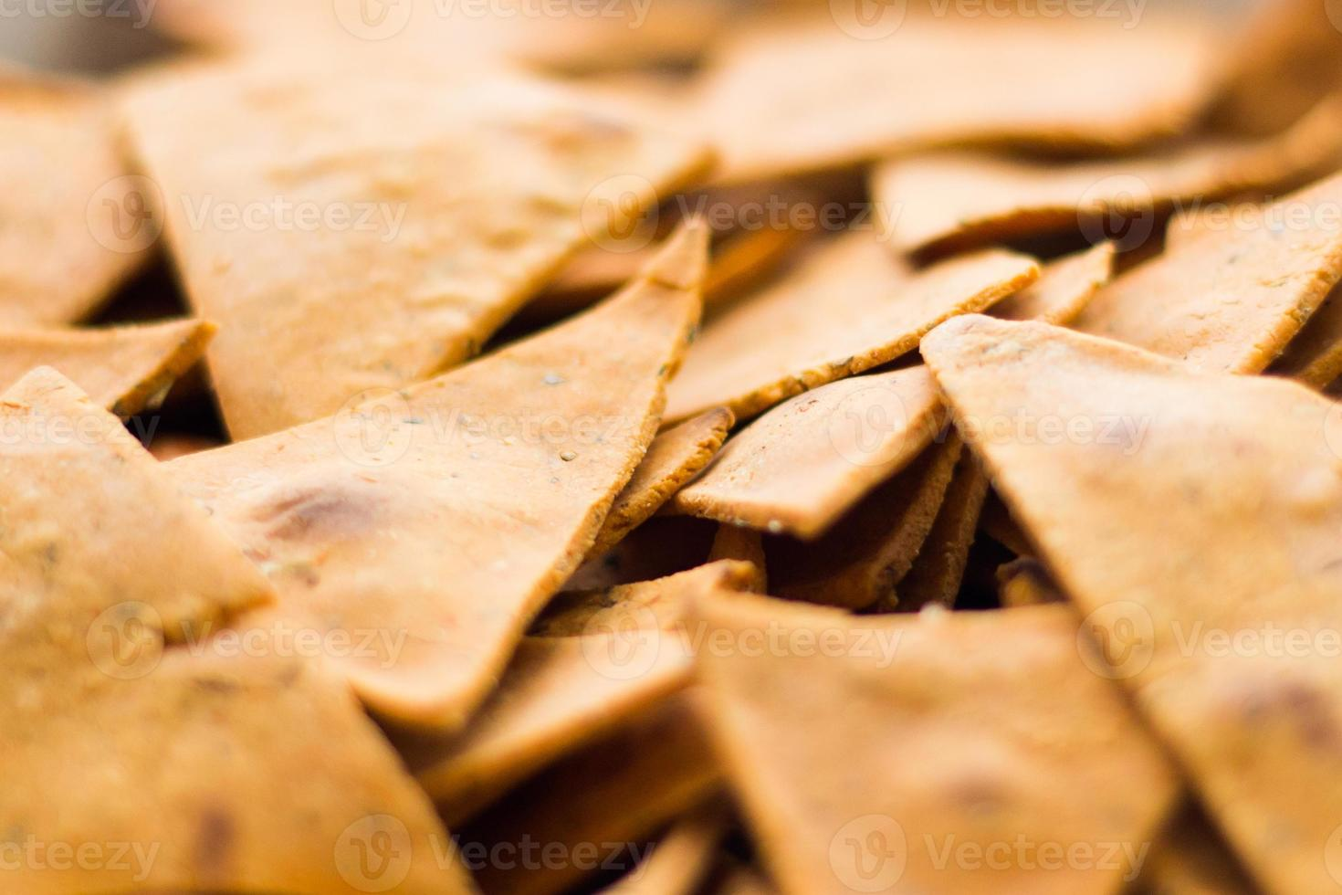 nachos caseiros foto