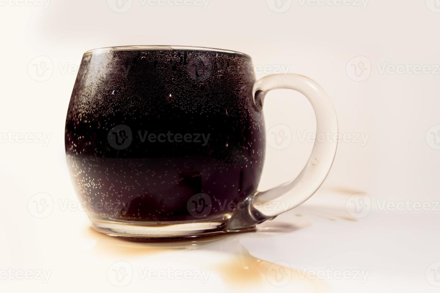 taza llena de refresco foto