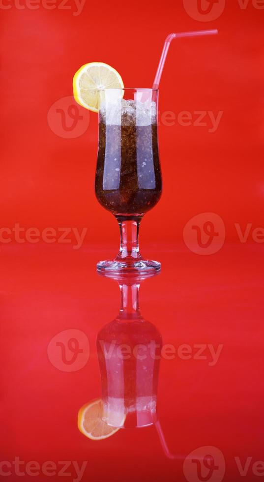 Ice cold soda photo