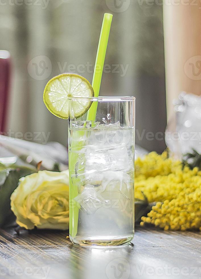 cóctel gin fizz foto