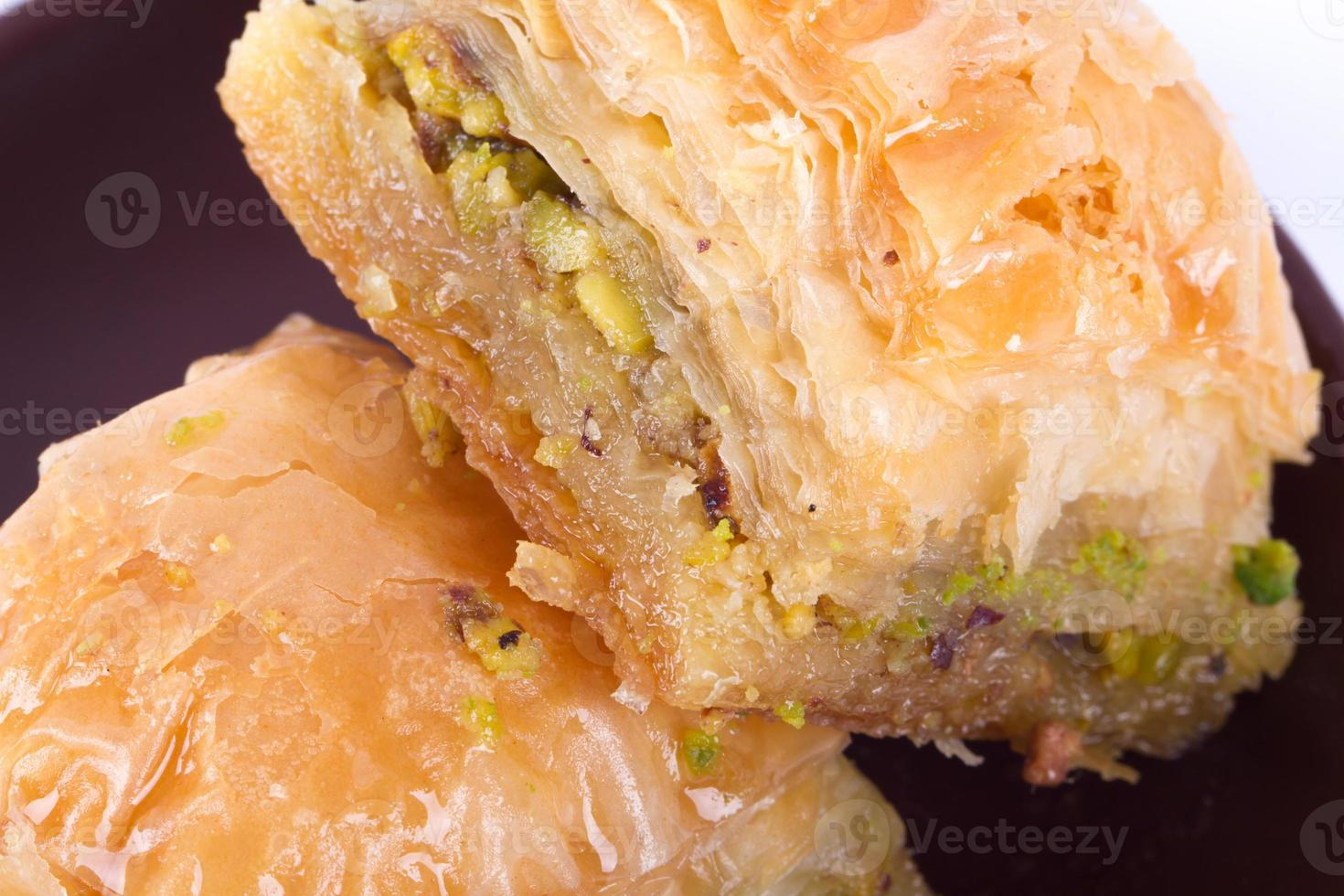 baklava con pistacho foto