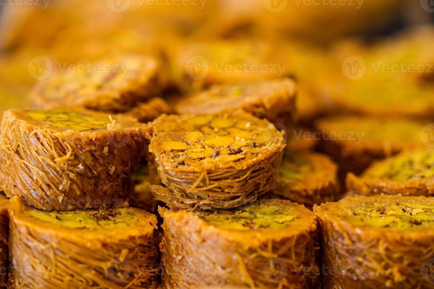 baklava dulce turco foto