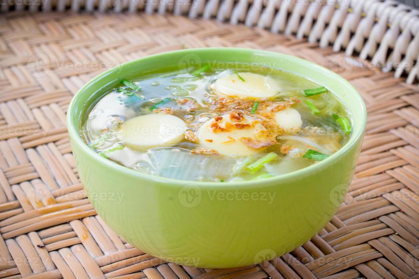 sopa de dolor famosa tailandesa foto