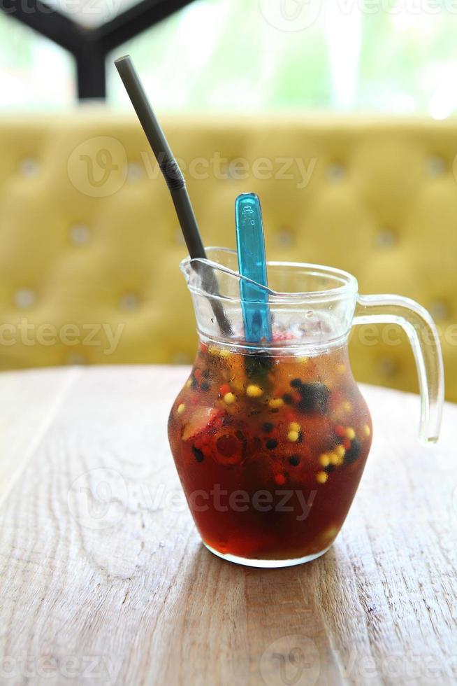 misture suco de frutas foto