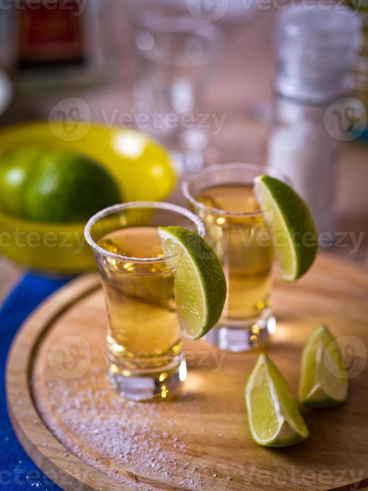 chupitos de tequila foto