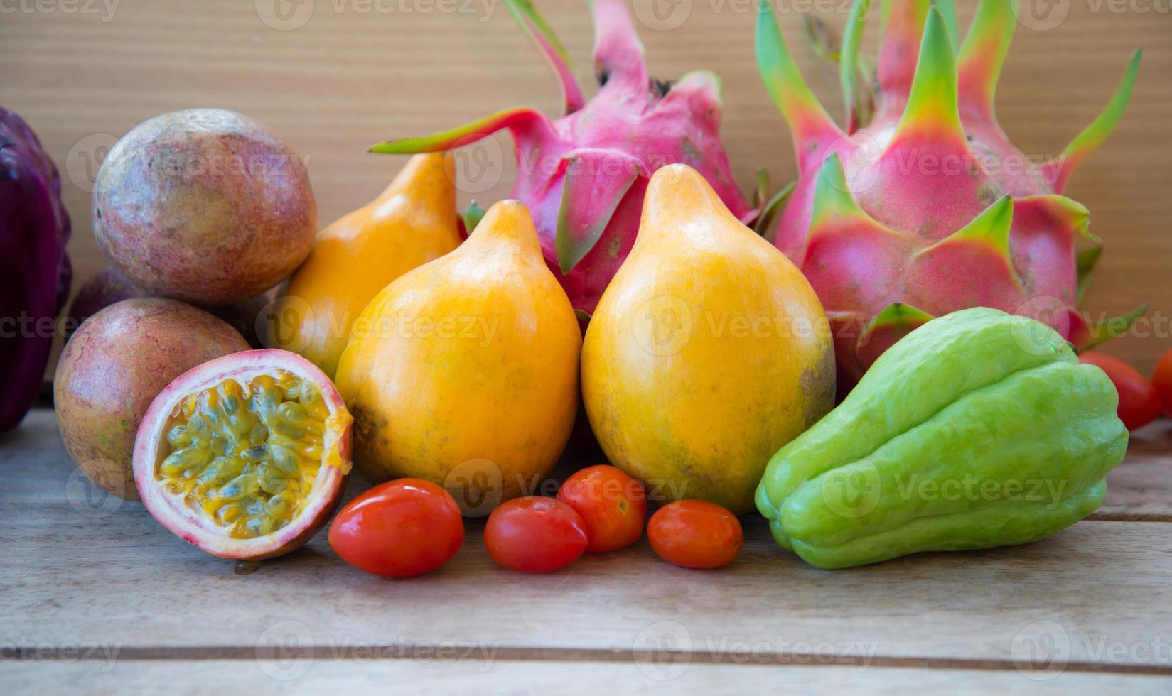 misture frutas foto