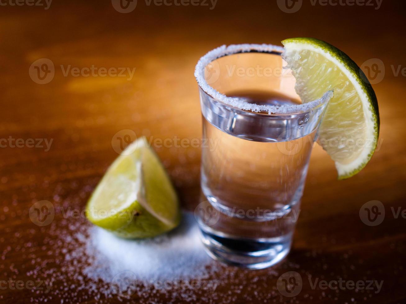 chupito de tequila foto