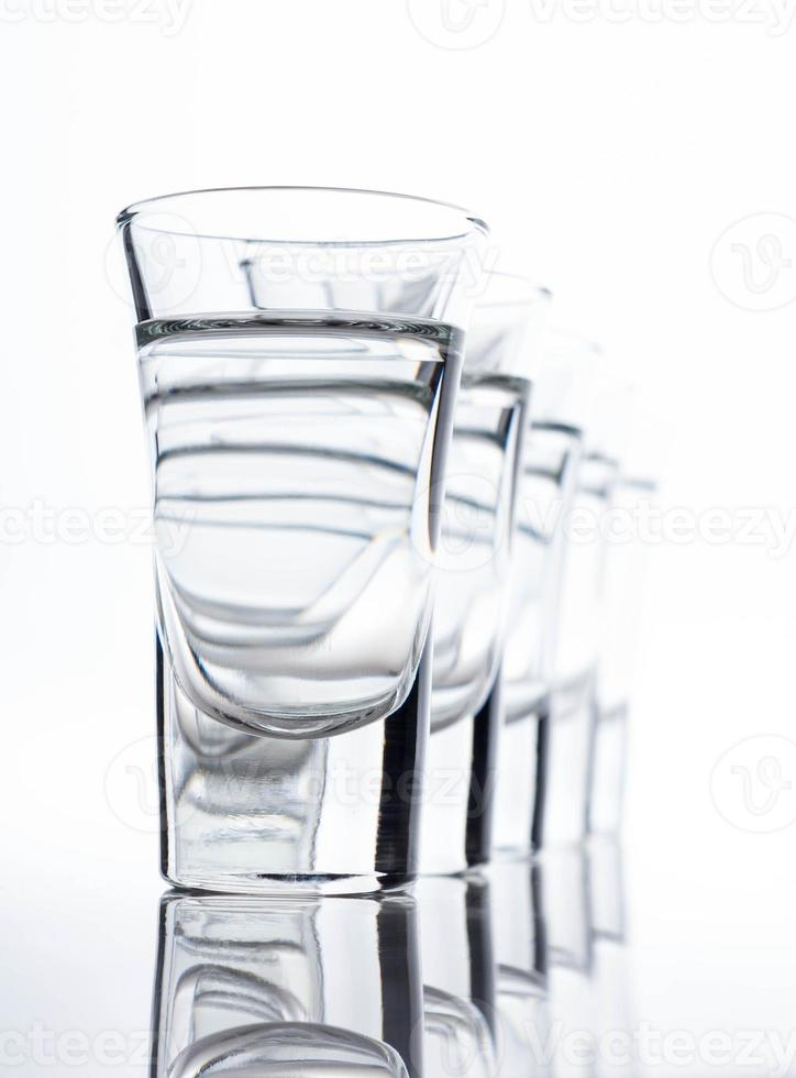 Tequila in shot glasses photo