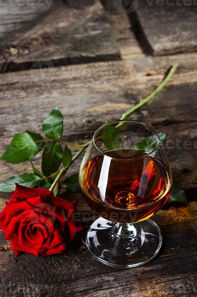 Vintage cognac photo