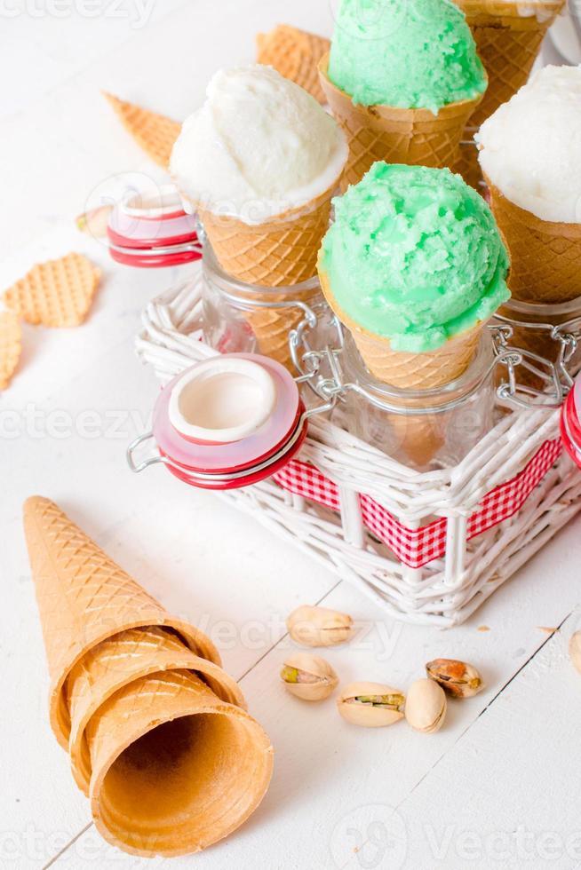 Ice creams photo
