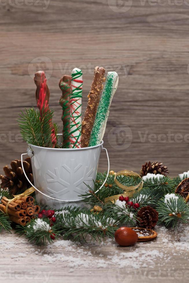 decoraciones navideñas foto