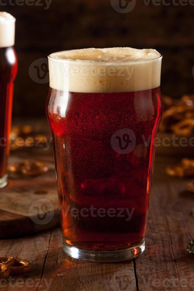 cerveza de otoño oktoberfest recién elaborada foto