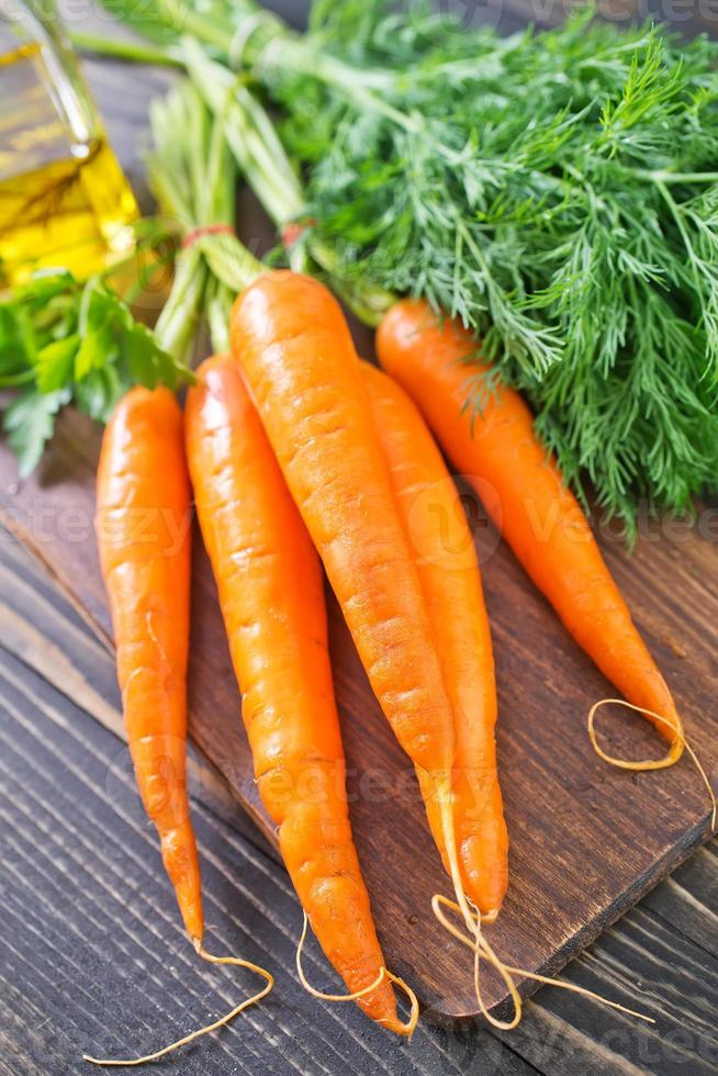 raw carrot photo