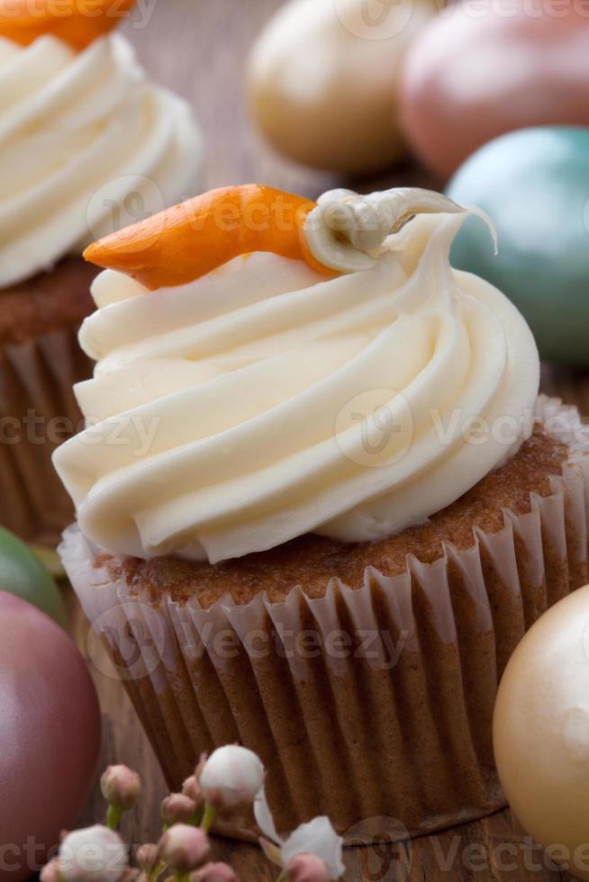 muffins de zanahoria foto