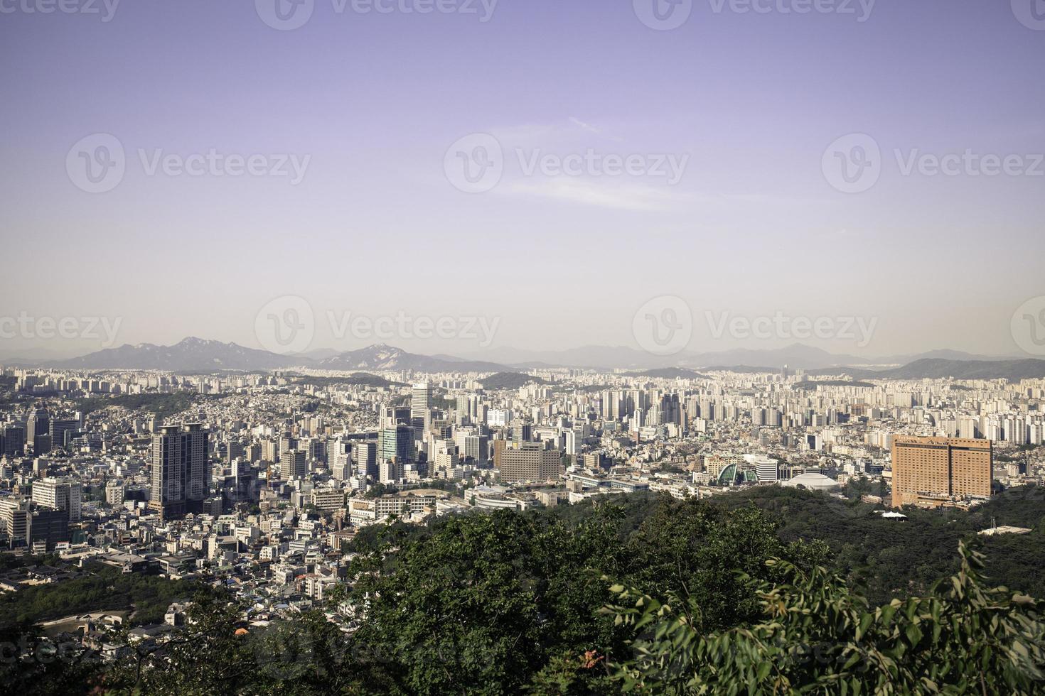 paisaje urbano de Seúl foto