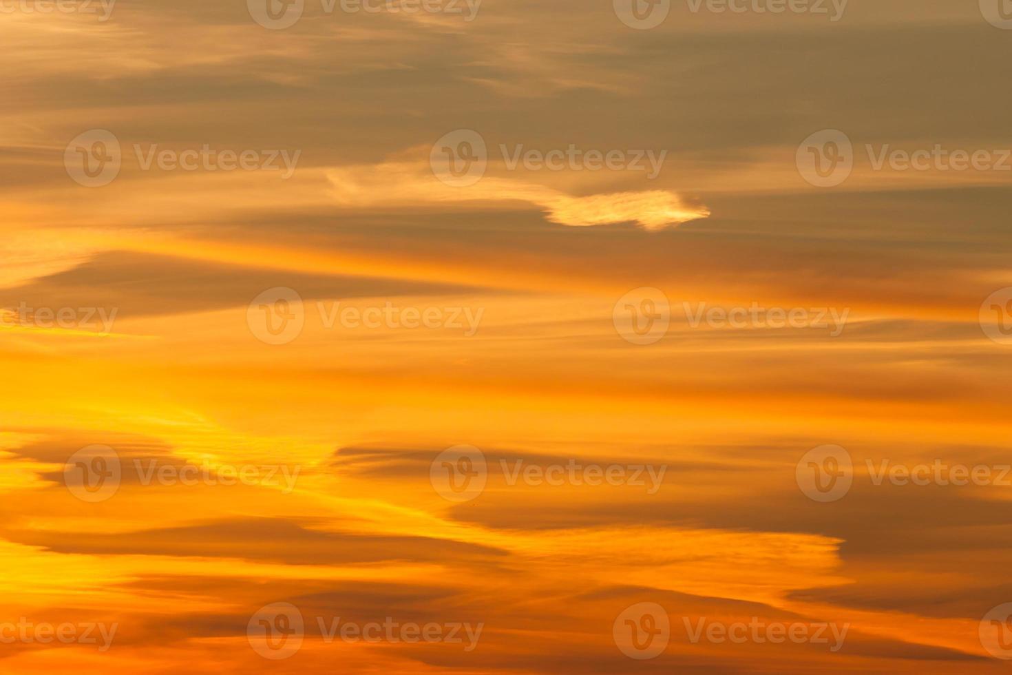 Dramatic fire sunset photo
