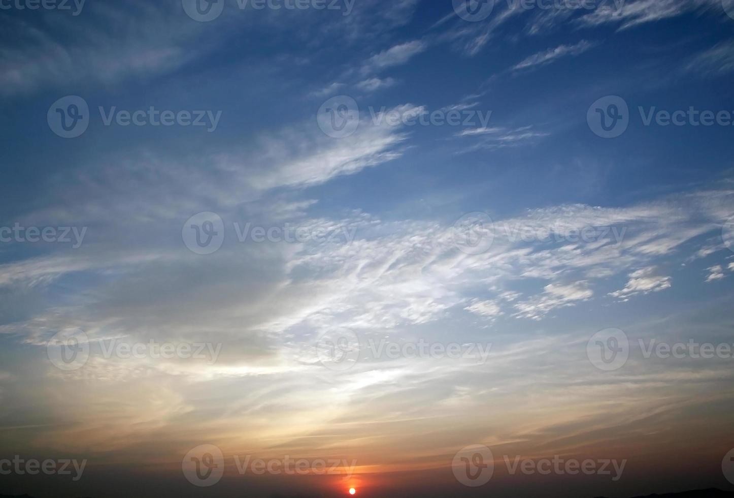 Sunset for background photo