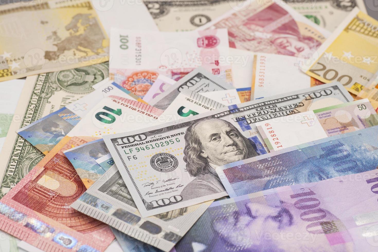 monedas internacionales foto