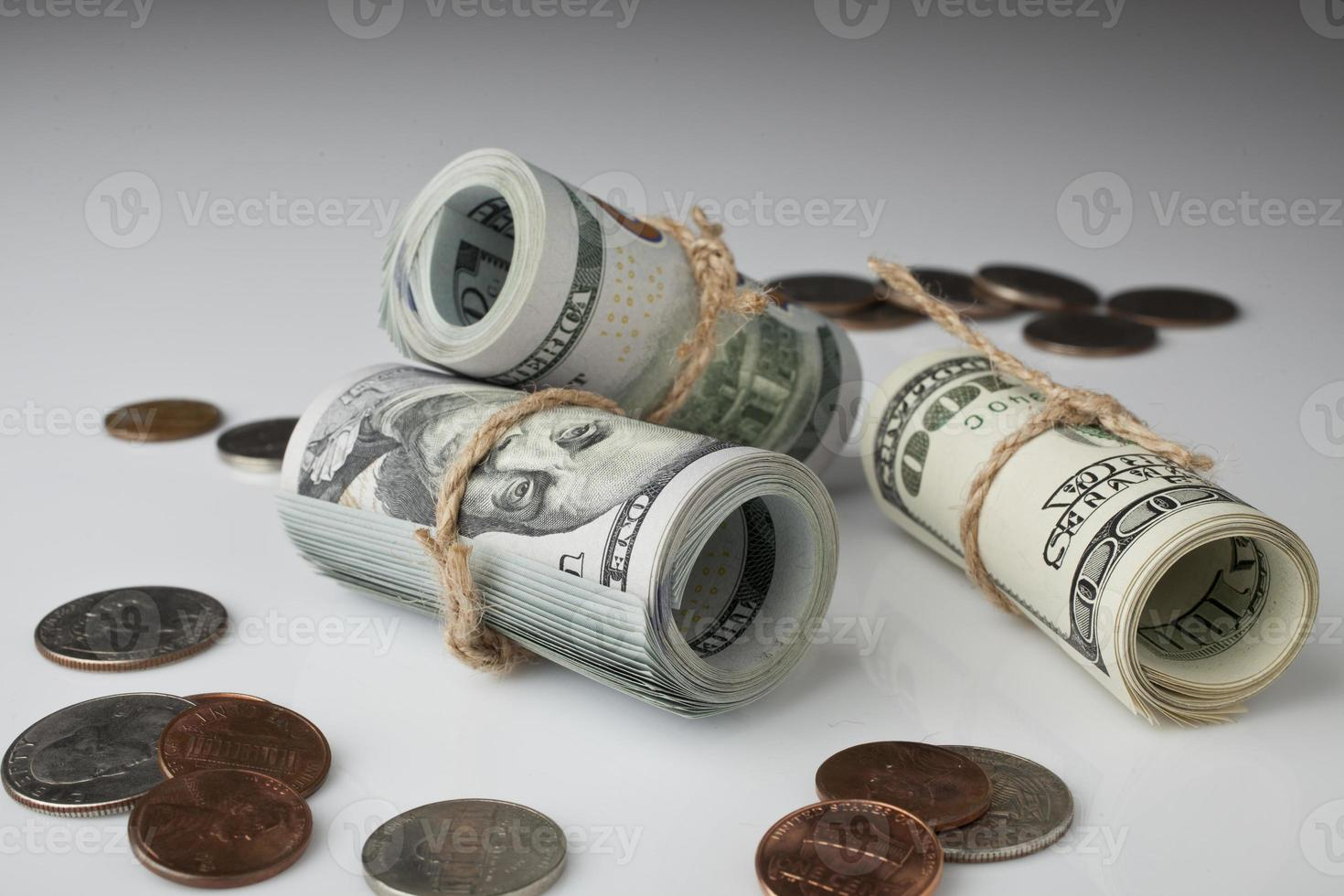 Dollar and Coin photo