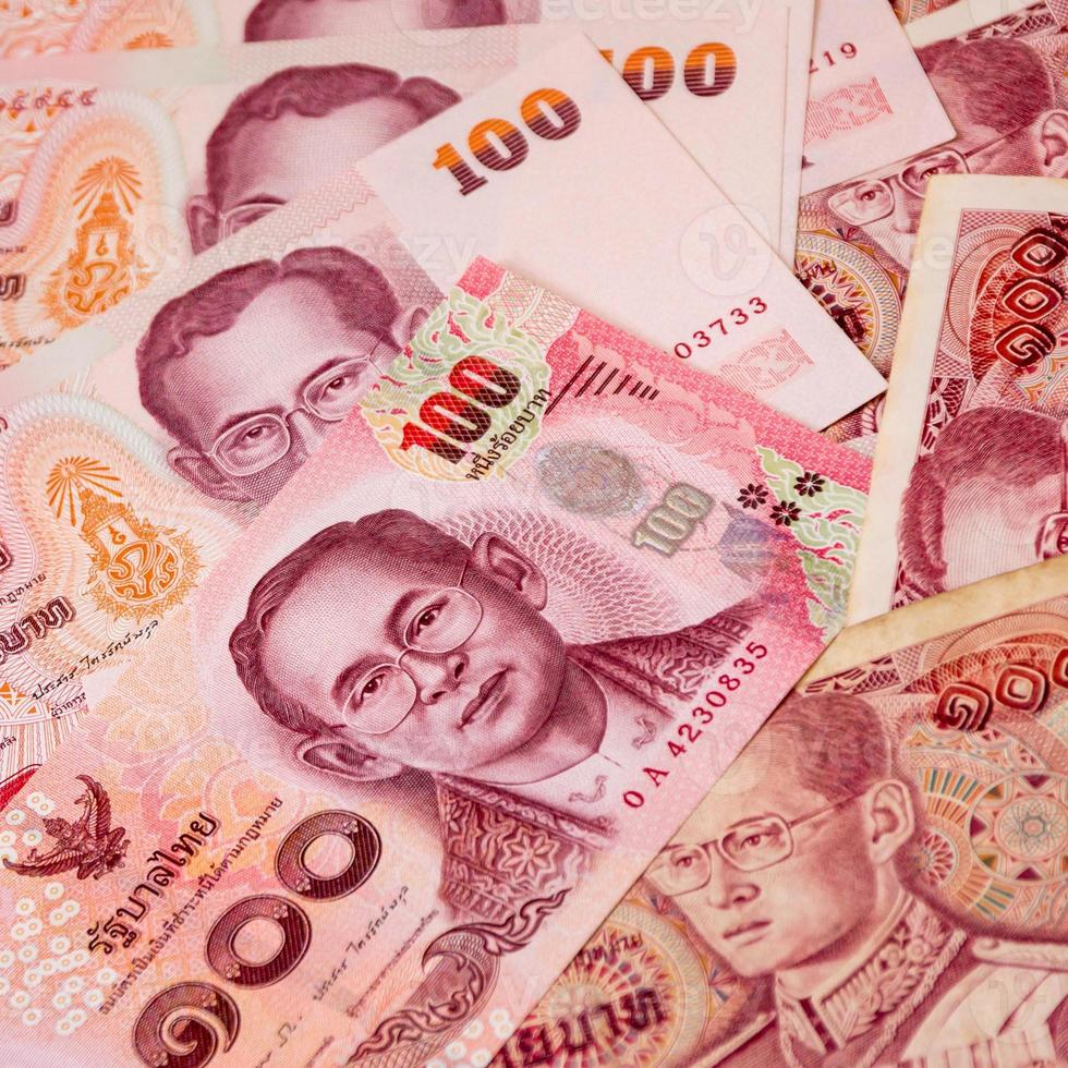 Thailand money banknote for background photo